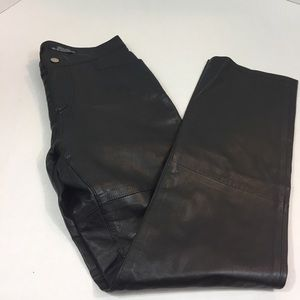 Women's TOMMY HILFIGER Leather Pants 7